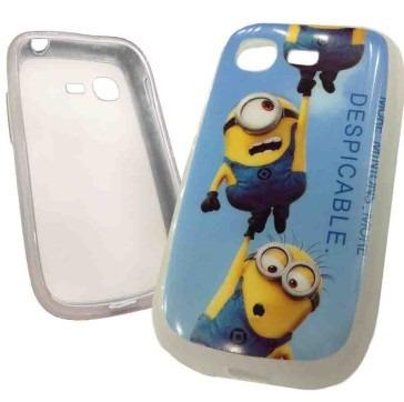 ef064e21ab4 Funda Tpu Minions Samsung S5310 Galaxy Pocket Neo Villano6 - $ 90,00 en  Mercado Libre