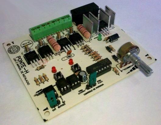 Controlador Velocidade Motor 12v Pwm Reversao Arduino Pic
