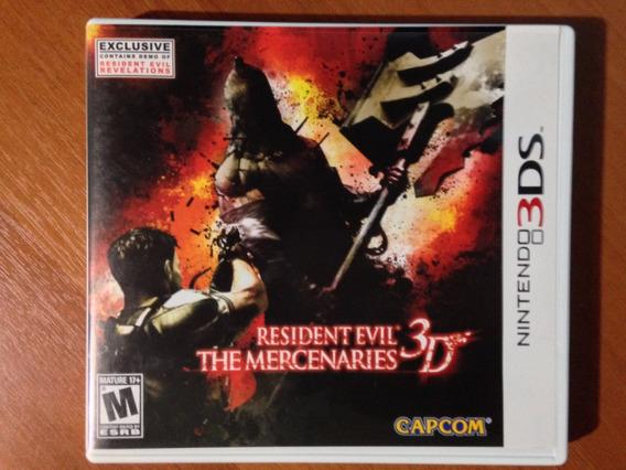 Resident Evil The Mercenaries 3ds - Americano