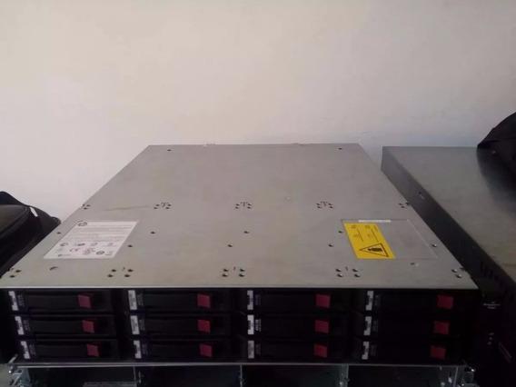 Storage Hp Msa P2000 G2 Iscsi - Aceita Discos De Ate 2tb