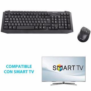 Teclado Y Mouse Inalámbrico Verbatim Wireless Ideal Smart Tv