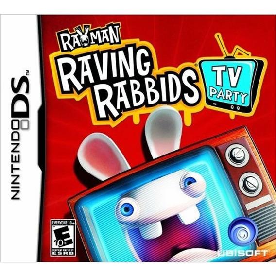 Rayman Raving Rabbids Tv Party Para Nintendo Ds Lacrado