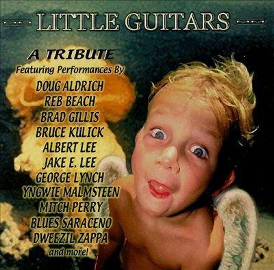 Cd Little Guitars - A Tribute To Van Halen