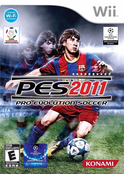 Pro Evolution Soccer - Pes 2011 (wii) Usado - Original