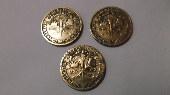 Moeda 1000 Réis Brasileiro De 1922