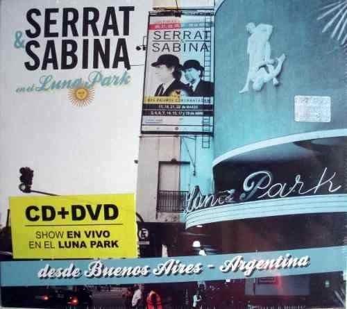 Serrat & Sabina En El Luna Park Cd + Dvd Nuevo Sellado