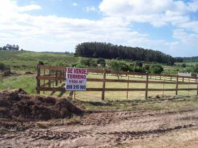 Terreno Punta Piedras Y B Bs As 1100 M2 Punta Del Este