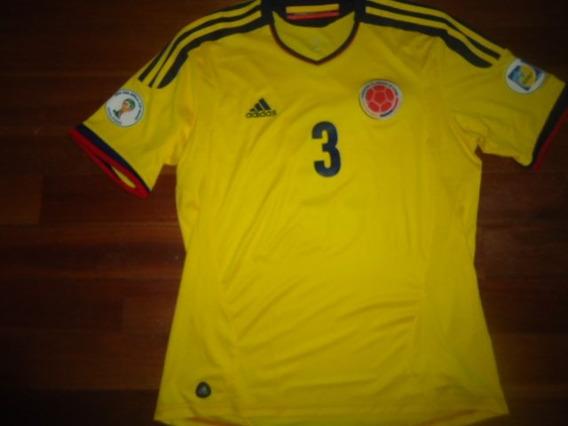Camiseta Seleccion Colombia M.corta Utileria #3 Yepes