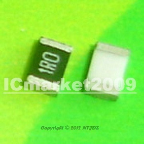 1r 1206 Resistor Smd De 1/4w 10 Unidades