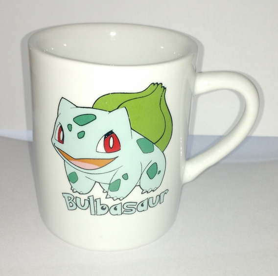 Caneca Pokemon Go 120ml Porcelana Bulbassauro - Bulbasaur