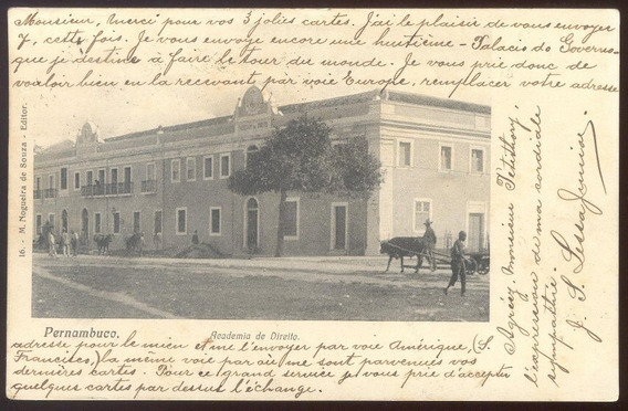 Pernambuco - Academia De Direito - 1905
