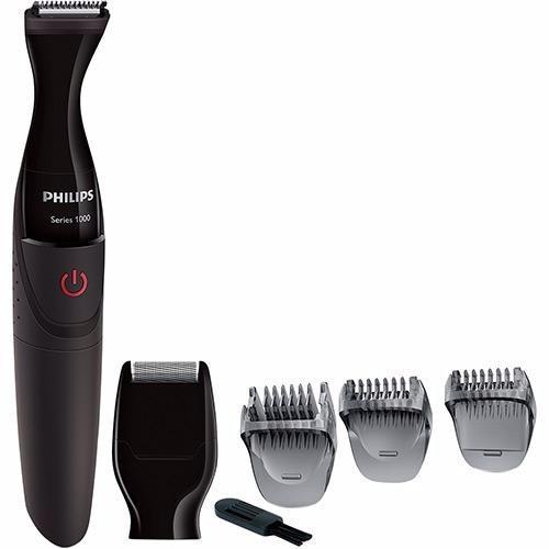 Barbeador E Aparador Philips Mg1100/16 2em1 À Prova D