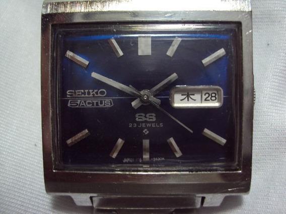 Relógio Seiko 5 Actus S S 23 J 6106-5430 1973 Relogiodovovô.