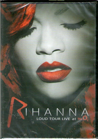 Dvd Rihanna - Loud Tour Live At The O2 - Novo***
