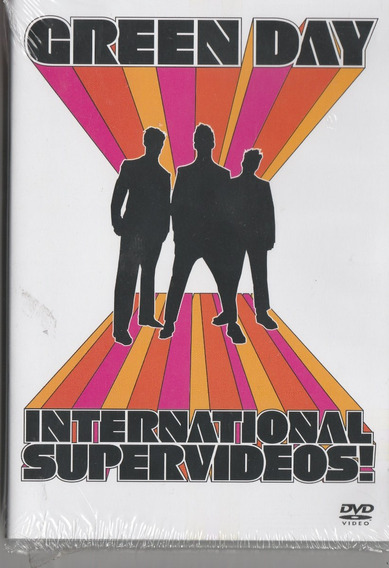 Green Day - Dvd International Supervideos! - Lacrado!