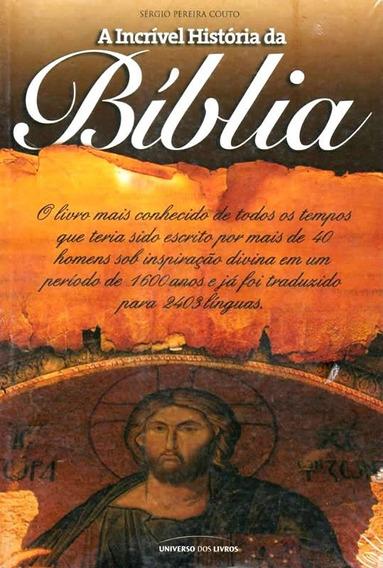 A Incrível História Da Bíblia Livro Saldão