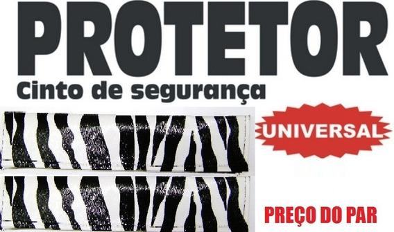 Par De Capa Protetora De Cinto Segurança - Zebra Universal