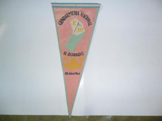 Gendarmeria Nacional El Dorado E 10 Misiones 1964 Banderin