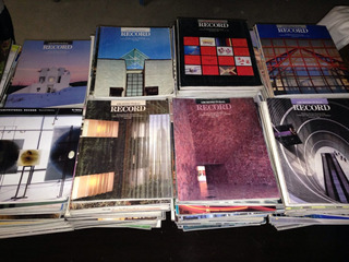 Architectural Record Lote De 250 Revistas. 1982 A 1995 Aprox
