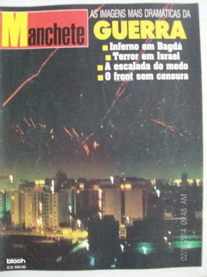 Revista Manchete 2025 Guerra Inferno Bagdá Terror Em Israel