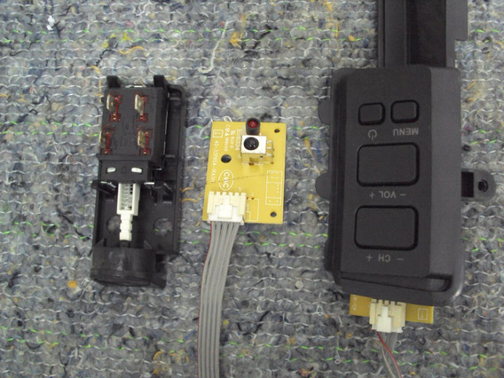 Teclado + Sensor Infrared + Chave Philco Tv Ph32e (c28-1959)
