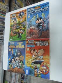 Clássicos Do Cinema Turma Da Mônica! Vários! R$ 29,99 Cada!