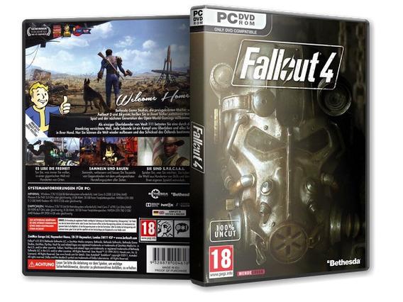 Fallout 4 Pc Midia Fisica Instalação