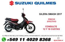 Moto Gilera Smash 0km 2018 Underbone Due Zb Suzuki Quilmes