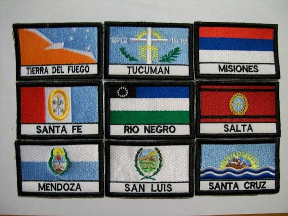 Banderas Provinciales Bordadas Parches