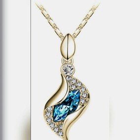 Colar Feminino Banhado A Ouro 18k Luxo E Estilo
