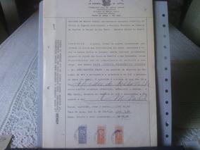 000 - Documento Com Selos De Fiscais Do Brasil
