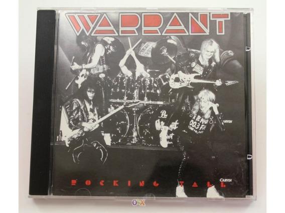 Cd Warrant Rocking Tall (importado, Raro) Perfeito Estado!!