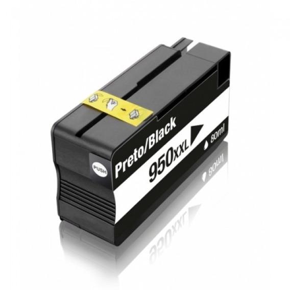 Cartucho Hp 950xl Black Cn045al 950 8600w 251dw Compatível
