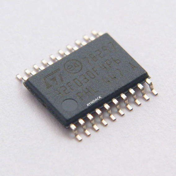 10 Peças * Stm32f030f4p6 Microcontrolador Stm32 Arm 32 Bits