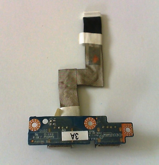 Placa Usb Notebook Dell Inspiron 1428 C/cabo Flat Dc02000e60