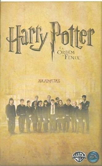 Somente Manual Original Em Portugues Harry Potter E A Ordem