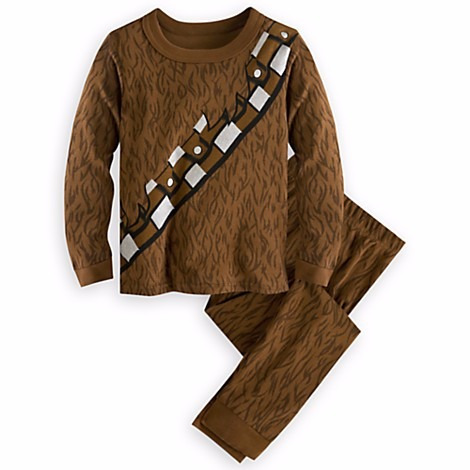 e5f4f66f848c8f Pijama Infantil Chewbacca Novo Star Wars Disney Store Tam 10