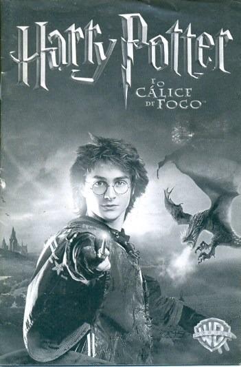 Somente Manual Original Em Portugues Harry Potter E O Calice