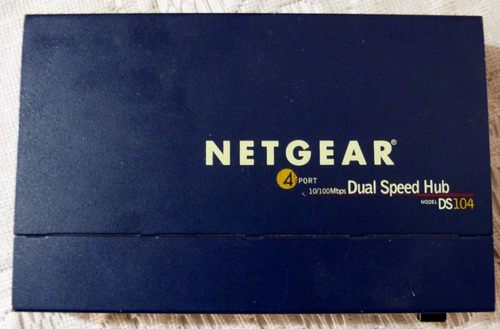 Imagen 1 de 3 de Netgear Dual Speed Hub Ds104