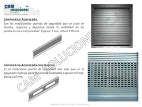Puertas Santa Maria Santamarias Enrollable Microperforada