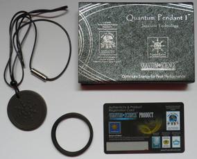 Medalhão Quantico Ou Pulseira Fusionexcel