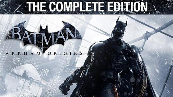 Batman Arkham Origins Complete Edition - Ps3 (digital)