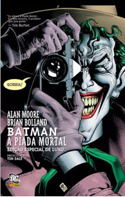 Hq - Batman - A Piada Mortal - Volume 1 - Edição De Luxo