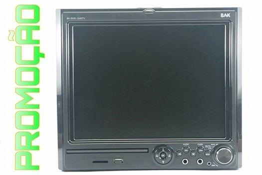 Micro System C/tv-completo-marca Bak-preto