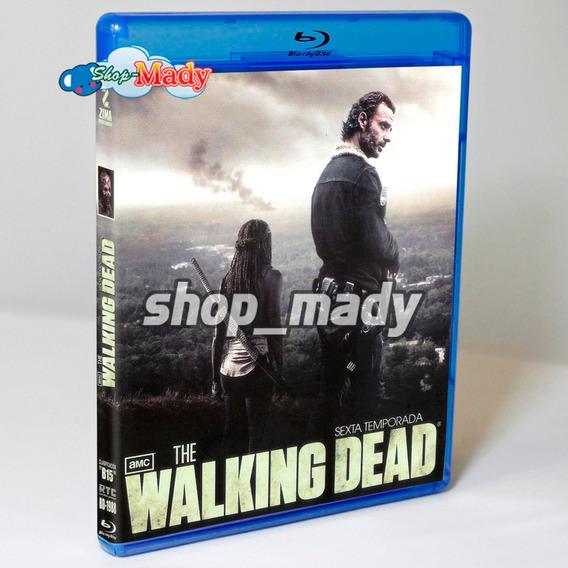 The Walking Dead Sexta Temporada Blu-ray Region A, B, C