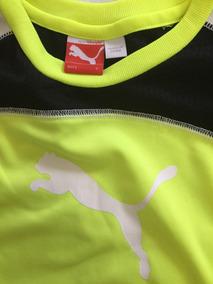 Camiseta Original Puma Dryfit Tam 6 Anos - Nova