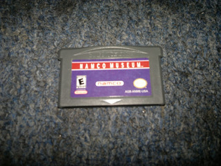 Namco Museum Para Game Boy Advance,excelente Titulo.