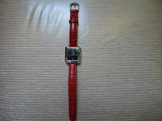 Relógio De Pulso Feminino Avon Vermelho