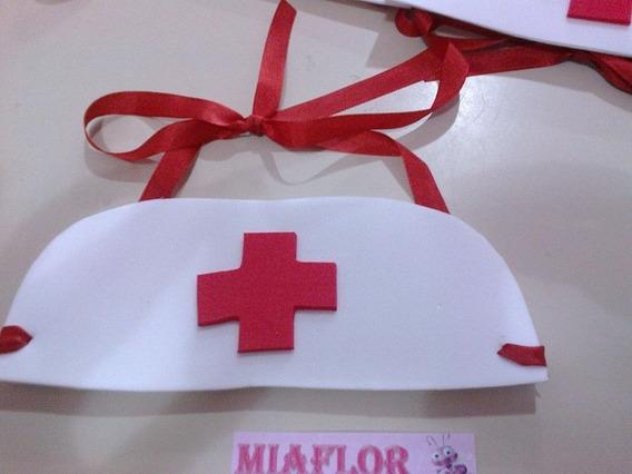12 Vinchas De Enfermera Cotillon