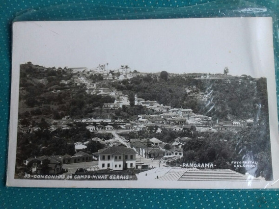 Postal-congonhas Do Campo Mg -panorama